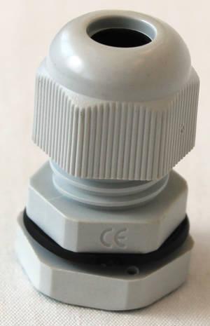 Förskruvning grå M18x1,5_5