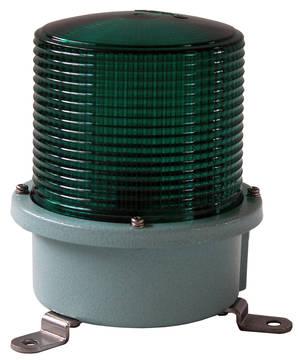Grönt blixtljus 230V mindre