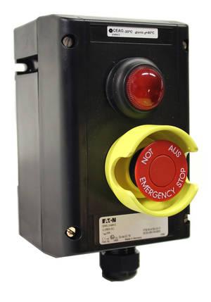 Nödsignalknapp SCB5DL Ex-klassad och köldtålig modell