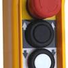 Handhållet Manöverdon med 4 knappar samt nödstopp